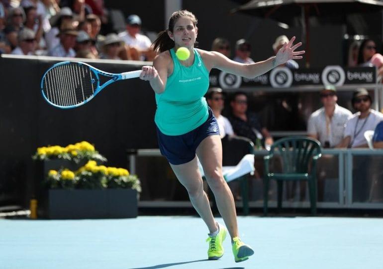 Julia Görges nimmt Abschied vom Tennis