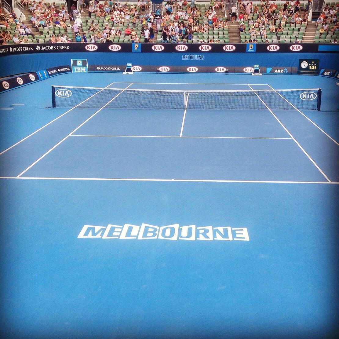 Australian Open: Das Stadion in Melbourne