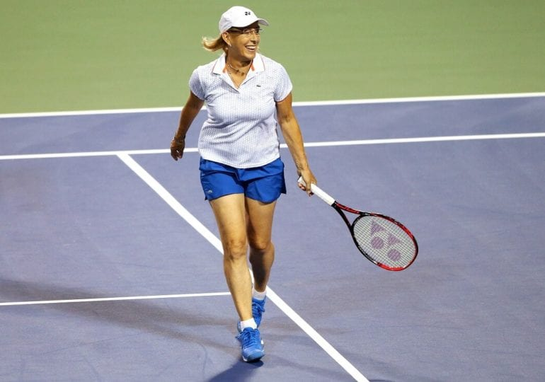 Martina Navratilova: Es wird nicht still um die Tennis-Ikone