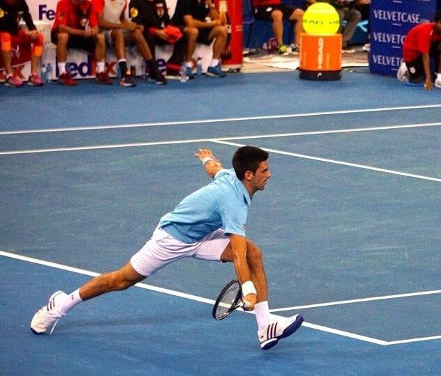 Djokovic als Imitationskünstler