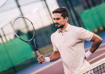 Rückenschmerzen: Richtig vorbereitet zum schmerzfreien Tennisspiel